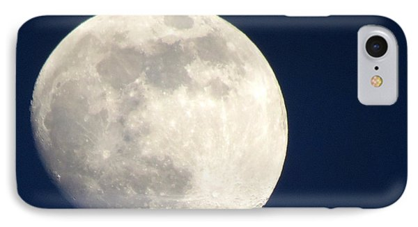 Moon In Blue IPhone Case