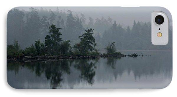 Morning Fog Over Cranberry Lake IPhone Case