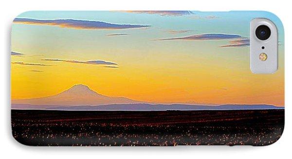 Mt. Adams Sunset IPhone Case