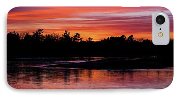 Odiorne Point Sunset IPhone Case
