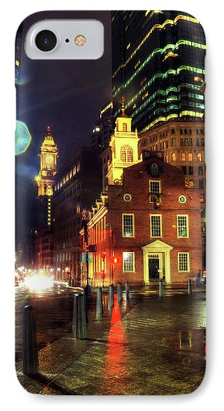 IPhone Case featuring the photograph Old State House - Boston by Joann Vitali
