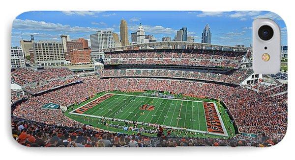 Paul Brown Stadium - Cincinnati Bengals IPhone Case