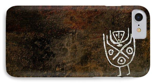 Petroglyph 3 IPhone Case