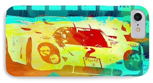 Porsche 917 Watercolor IPhone Case