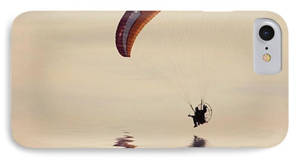 Powered Paraglider IPhone Case