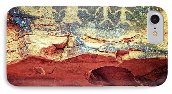 Red Rock Canyon Petroglyphs IPhone Case