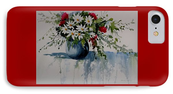 Red White And Blue Bouquet IPhone Case