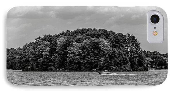 Relaxing On Lake Keowee In South Carolina IPhone Case
