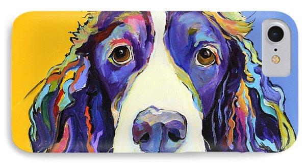 Dog iPhone 8 Case - Sadie by Pat Saunders-White