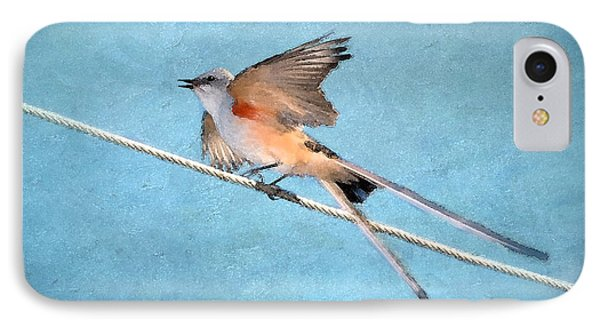 Scissor-tailed Flycatcher IPhone Case