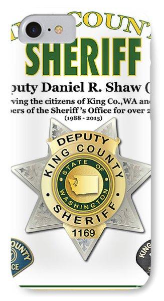 Sheriff IPhone Case