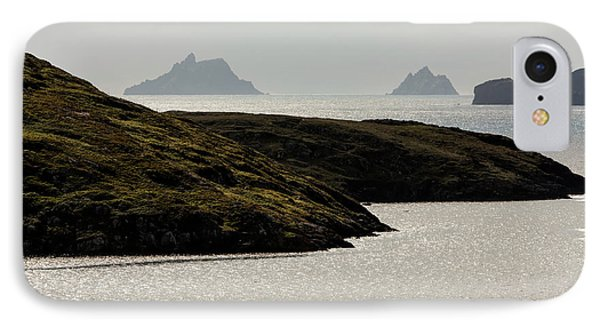 Skellig Islands, County Kerry, Ireland IPhone Case