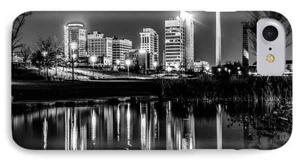 Skyline Of Birmingham Alabama From Railroad Park IPhone Case