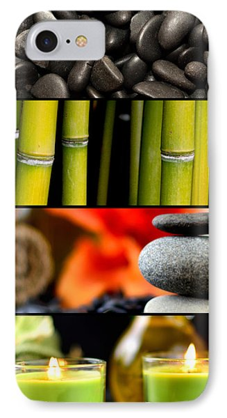 Spa Collage IPhone Case