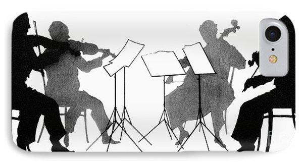 Violin iPhone 8 Case - String Quartet, C1935 by Granger