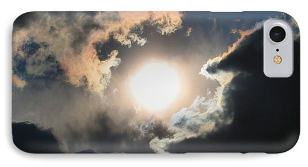 Sun Breaking Through IPhone Case