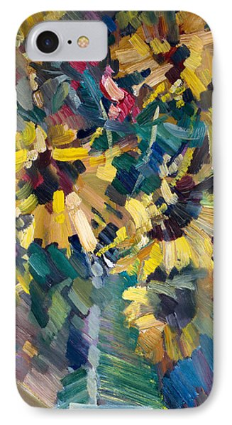 Fruit iPhone 8 Case - Sunflowers by Nikolay Malafeev