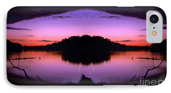 Sunset Kiss IPhone Case