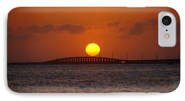 Sunset Seven Mile Bridge IPhone Case
