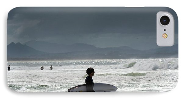 Surfing At  IPhone Case