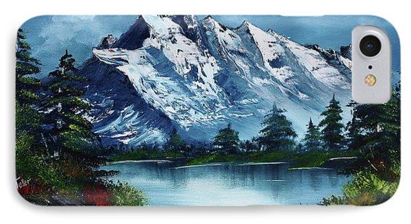 Mountain iPhone 8 Case - Take A Breath by Barbara Teller