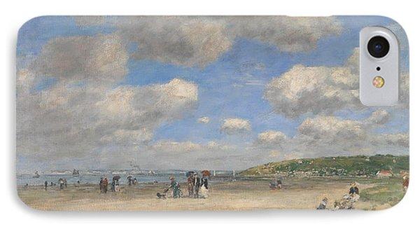 The Beach At Tourgeville Les Sablons IPhone Case