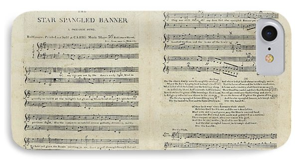 The Star Spangled Banner IPhone Case