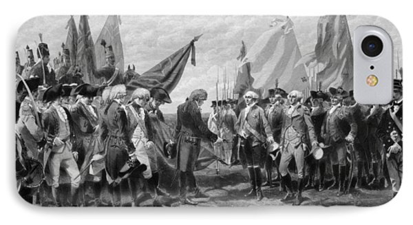 The Surrender Of Cornwallis At Yorktown IPhone Case