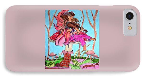 The Violinist Fairy IPhone Case