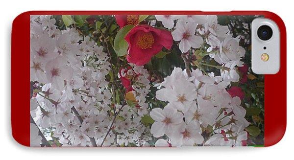 Thubaki Means Camellia IPhone Case
