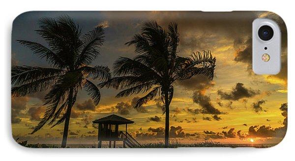 Two Palm Sunrise Delray Beach Florida IPhone Case