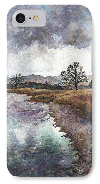 Walden Ponds On An April Evening IPhone Case