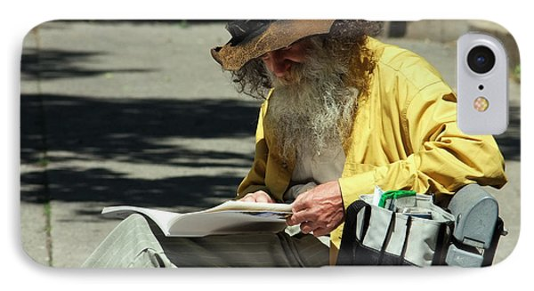 Walt Reading  IPhone Case