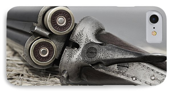Webley And Scott 12 Gauge - D002721a IPhone Case