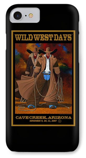 Wild West Days Poster/print  IPhone Case