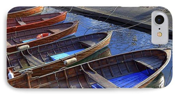 Boat iPhone 8 Case - Wooden Boats by Joana Kruse