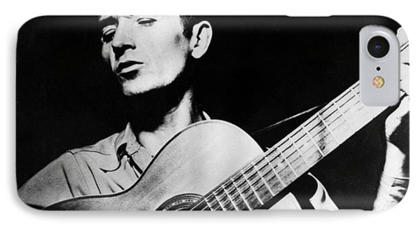 Woody Guthrie (1912-1967) IPhone Case