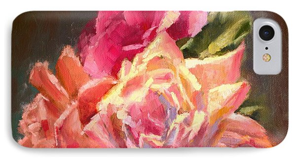Yellow And Pink Roses IPhone Case