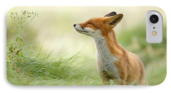 Animals iPhone 8 Case - Zen Fox Series - Zen Fox by Roeselien Raimond