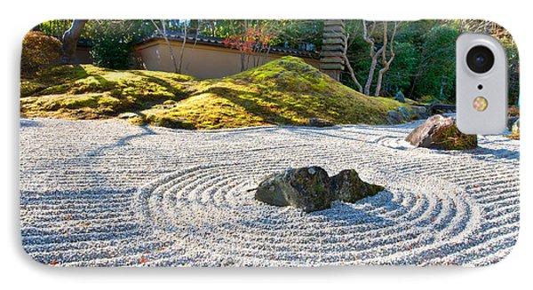 Zen Garden At A Sunny Morning IPhone Case