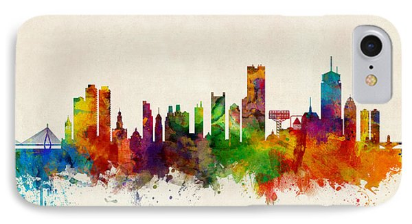 Boston Massachusetts Skyline IPhone Case
