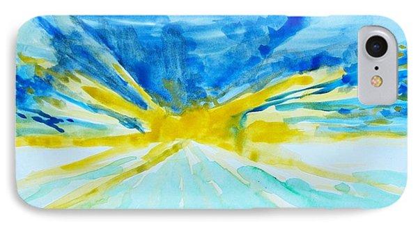 Memory Of A Sunrise IPhone Case