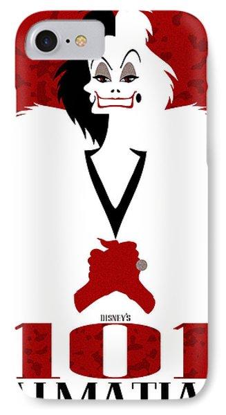 101 Dalmatians Alternative Poster IPhone Case