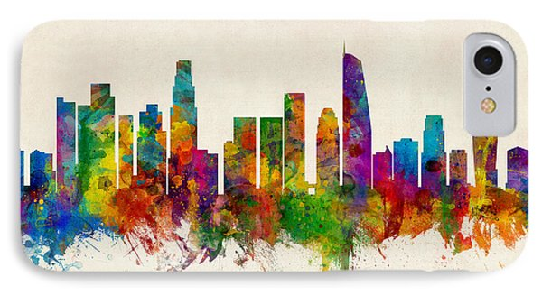 Los Angeles California Skyline IPhone Case