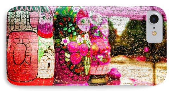 Russian Matrushka Dolls Wall Art IPhone Case