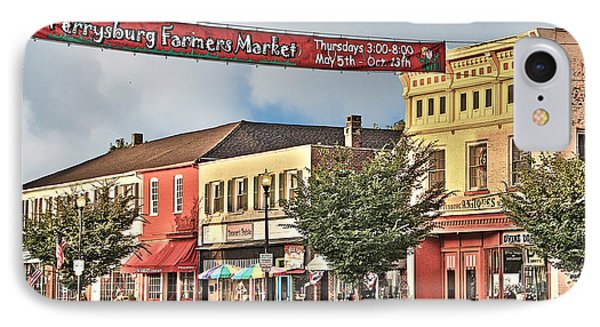 Downtown Perrysburg IPhone Case
