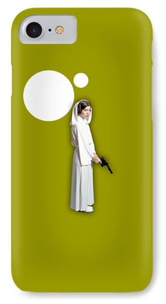 Star Wars Princess Leia Collection IPhone Case