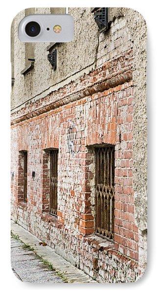 Dungeon iPhone 8 Case - Derelict Building by Tom Gowanlock