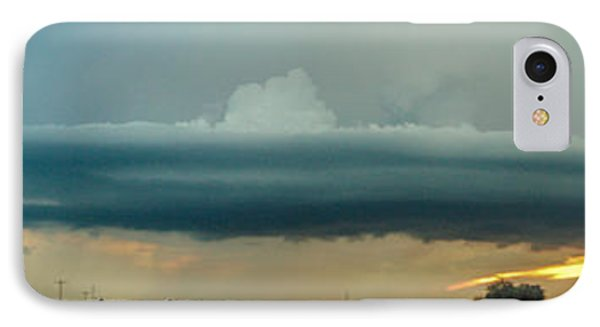 Nebraskasc iPhone 8 Case - Mid Season Nebraska Supercell by NebraskaSC