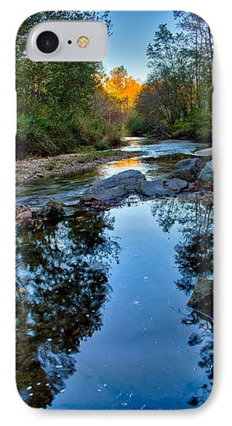 Stone Mountain North Carolina Scenery During Autumn Season IPhone Case